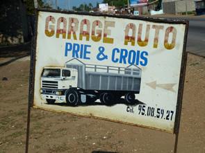 Les enseignes for Enseigne garage automobile